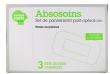 Absosoins set pansement post-opératoire plaies moyennes b/3